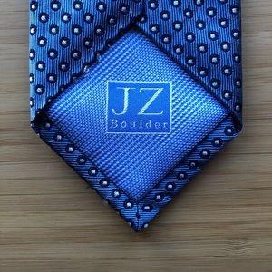 J. Z. Richards Silk Tie In Cool Carolina Blue!